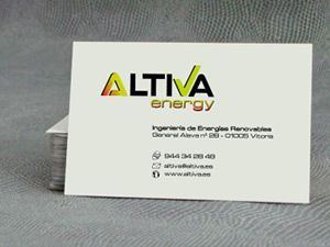 altiva energy, diseño de logotipo.